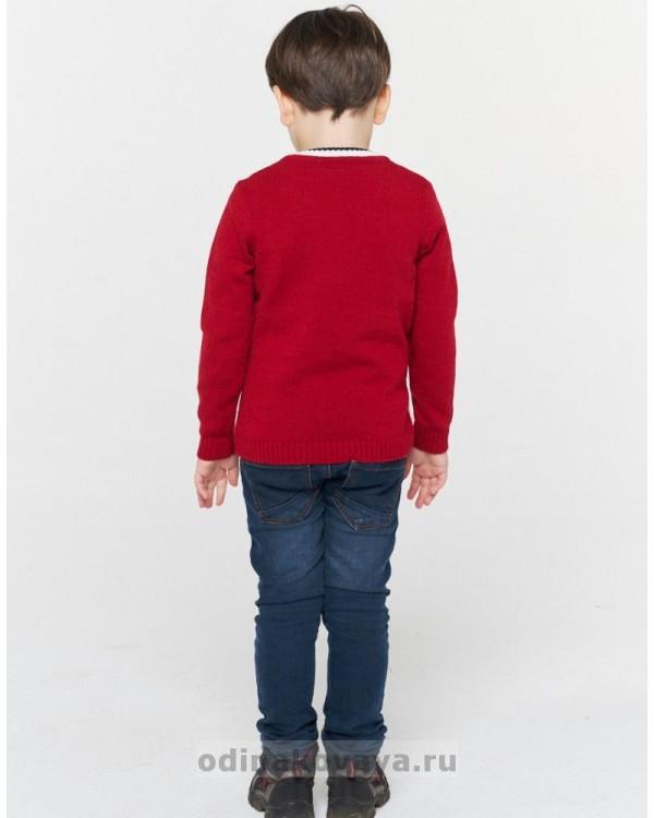 Комплект свитеров для всей семьи ГВИН И ПИН красный