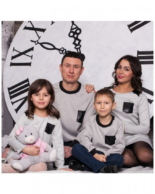 Комплект джемперов для папы и сына Актив М-230