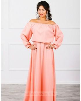 Длинное платье Элегия М-244
