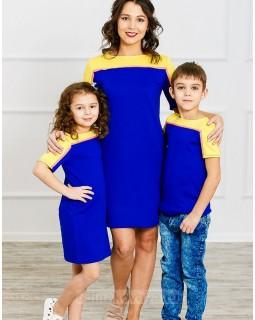 Комплект Family Look для мамы и сына Спорт М-275