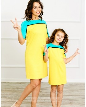 Комплект Family Look для мамы и дочки Спорт М-275