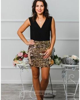 Коктейльное платье Бурлеск М-1015