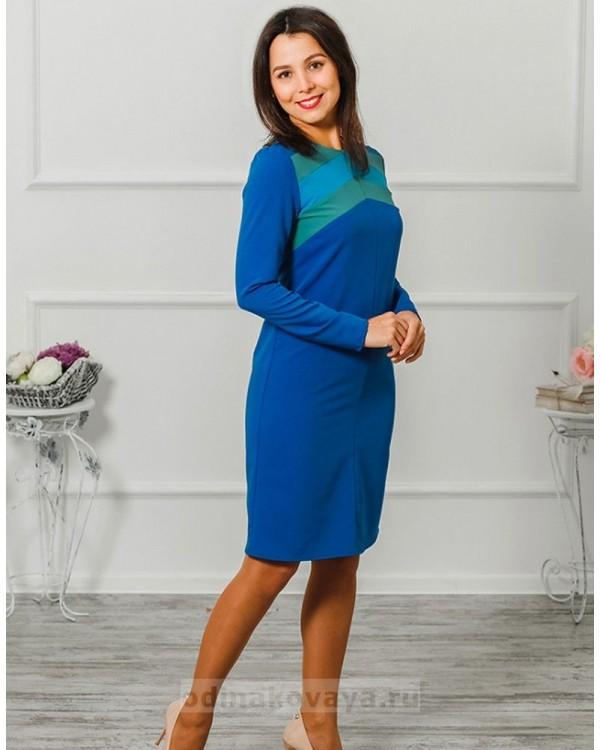 Платье Радуга М-2004 цвет синий