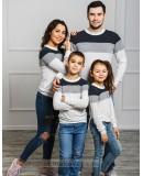 Комплект джемперов для всей семьи Трио М-2022