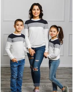 Комплект джемперов для мамы и сына Трио М-2022