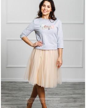 Фатиновая юбка Зефирка М-2024