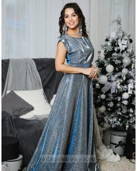 Вечернее платье с открытой спинкой Золушка М-2055