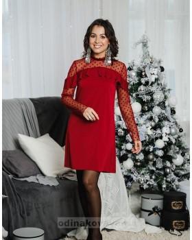 Коктейльное платье Глюкоза М-2056
