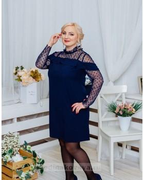 Коктейльное платье Глюкоза PLUS М-2056