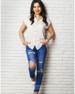 Рубашка женская Фьюжн М-1034