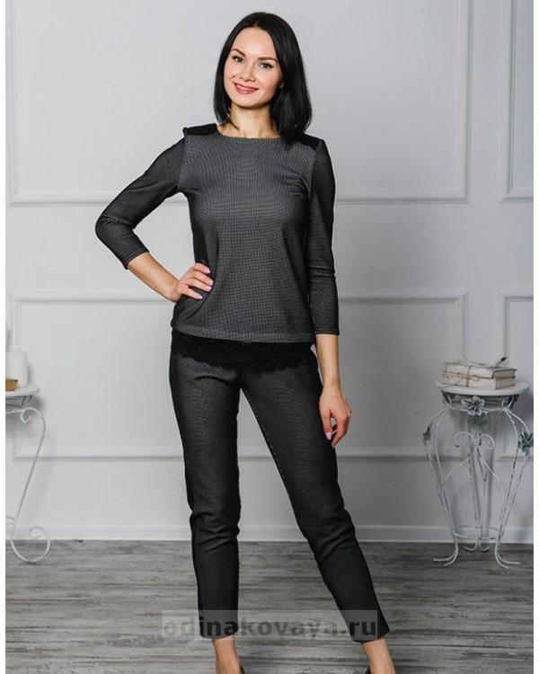 Брючный костюм Диор М-1036 цвет черный