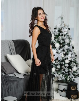 Вечернее платье в пол Жасмин М-1054