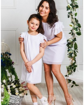 Комплект платьев для мамы и дочки Гармония М-2031