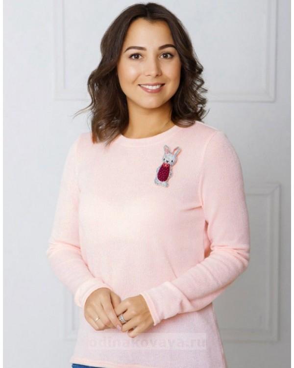 Джемпер женский Зайка М-2043 цвет розовый