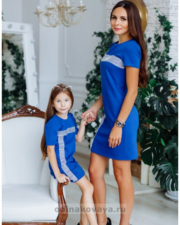 Платье Муза М-2150 синий