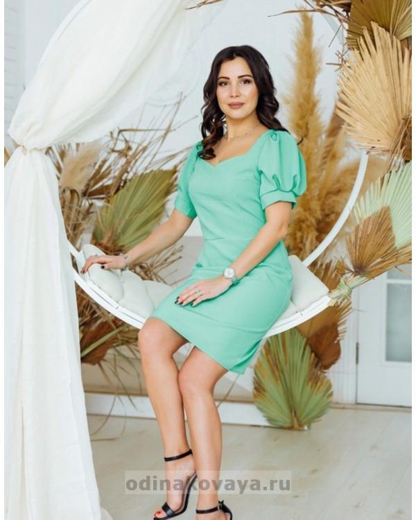 Платье Лайм М-2161 мятный