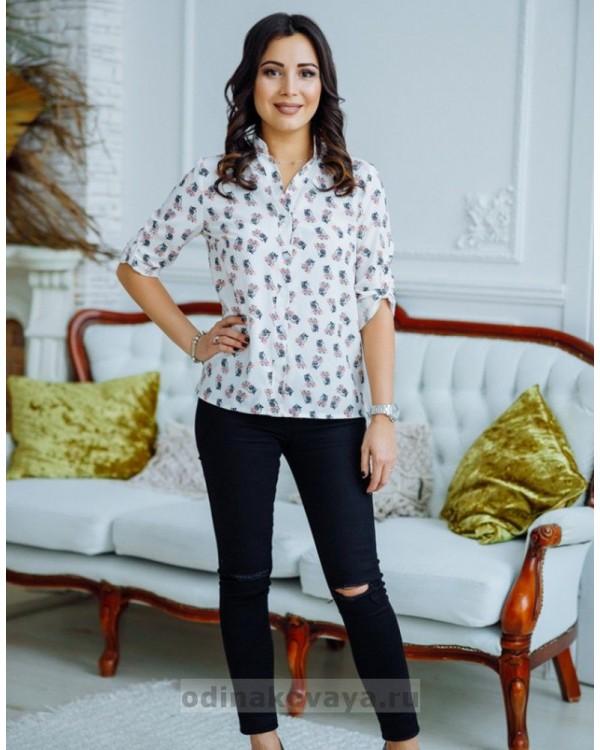 Комплект блузок в стиле family look Вика М-2168