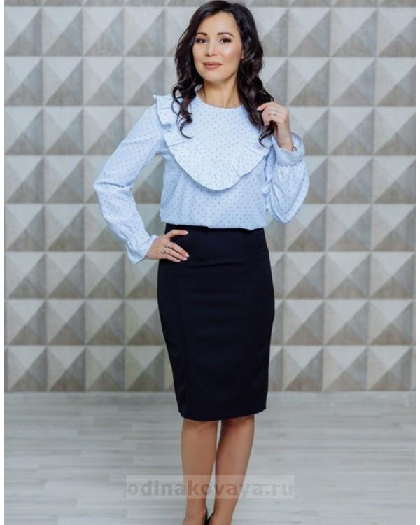 Блуза с оборкой Джейн М-1119