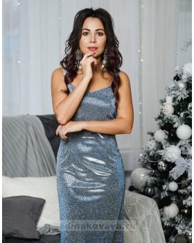Коктейльное платье-миди Джесика М-1052