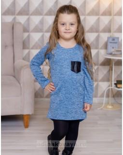 Детское платье-туника Меланж М-2103