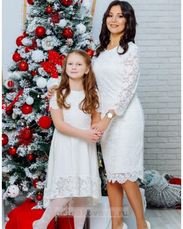 Кружевное платье Беверли М-1105