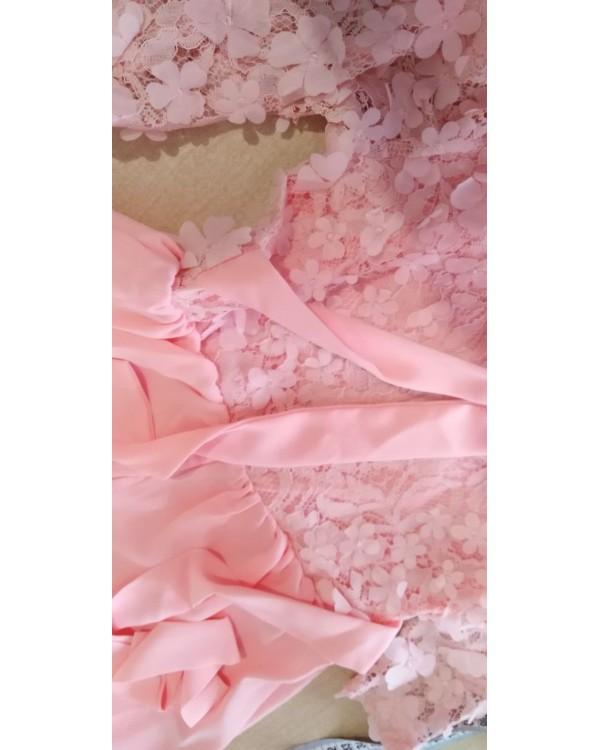 Нарядное  платье для девочки Флёр М-2108