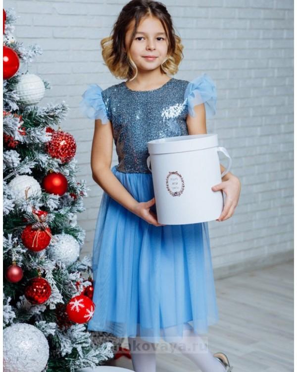 Вечернее платье для девочки Ариэль М-2110