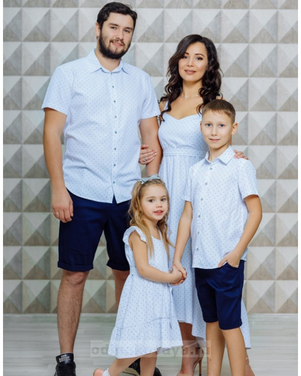 Одинаковая одежда для всей семьи Флорида М-2116