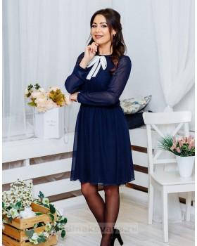 Шифоновое платье Мэри М-1061