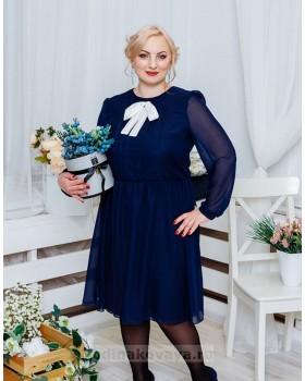 Шифоновое платье Мэри PLUS М-1061