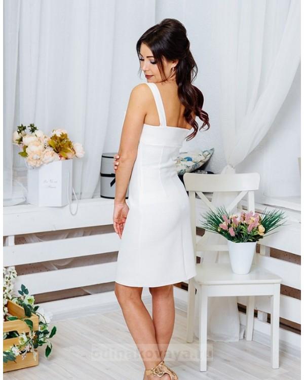 Платье Молли М-1063 цвет белый