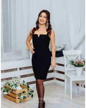 Платье Молли М-1063 черный