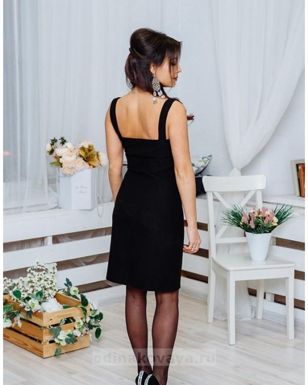 Платье Молли М-1063 цвет черный