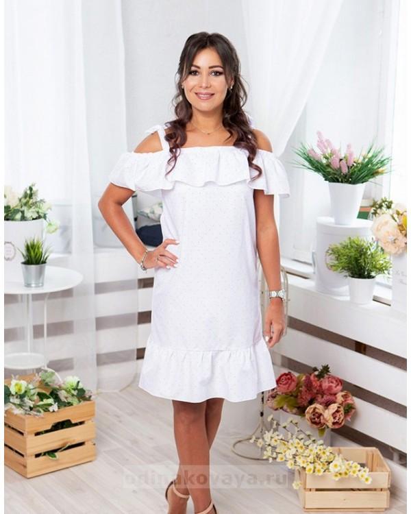 Комплект платьев в одном стиле для мамы и дочки Майями М-2081 цвет белый