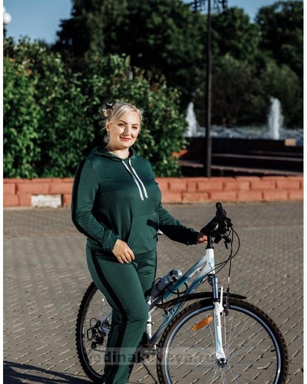 Спортивный костюм Кэжуал М-2090 зеленый