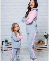 Одинаковые костюмы для мамы и дочки в стиле Family look
