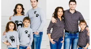 Фотосессия и семейный образ.