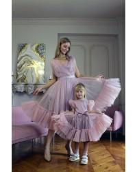 Нарядные, вечерние платья для мамы и дочки для торжественного, особого случая!