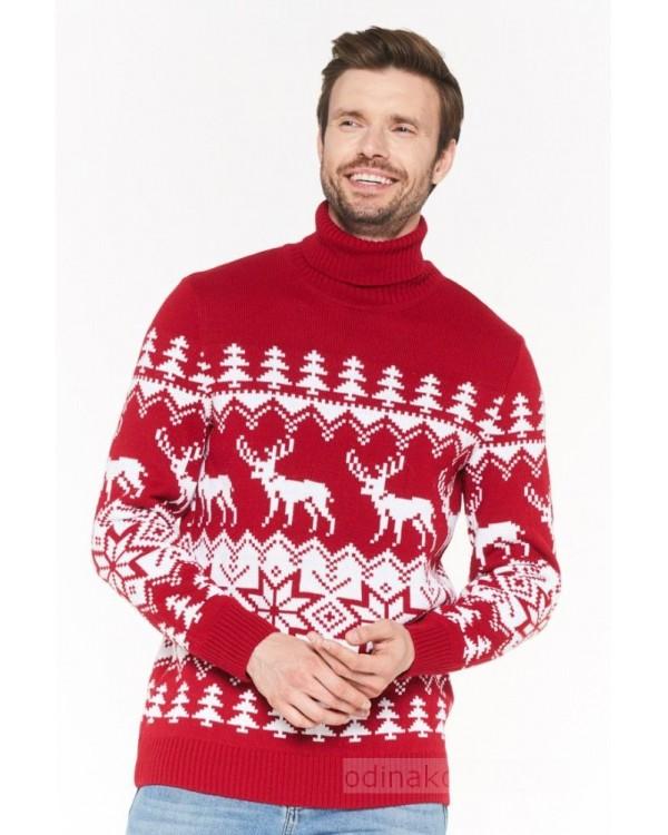 Комплект свитеров для всей семьи ОЛЕШКИ
